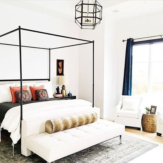 33 Canopy Beds And Canopy Ideas For Your Bedroom - DigsDigs on Modern Boho Bed Frame  id=46289