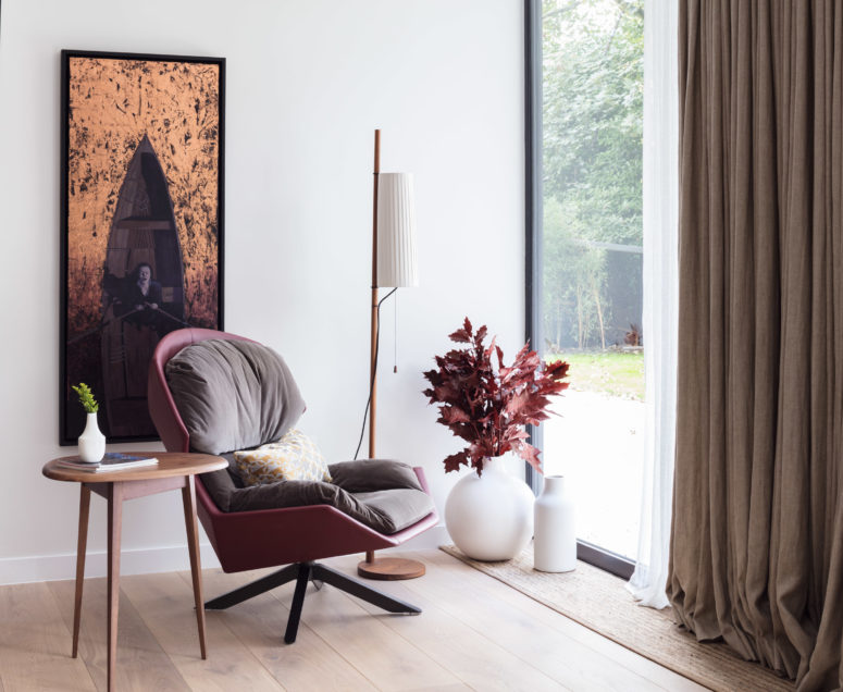 Furniture and textures make this home special and show its personality