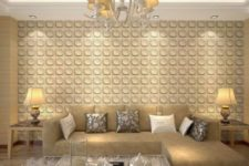 07 a traditional space made more modern with a 3D wall