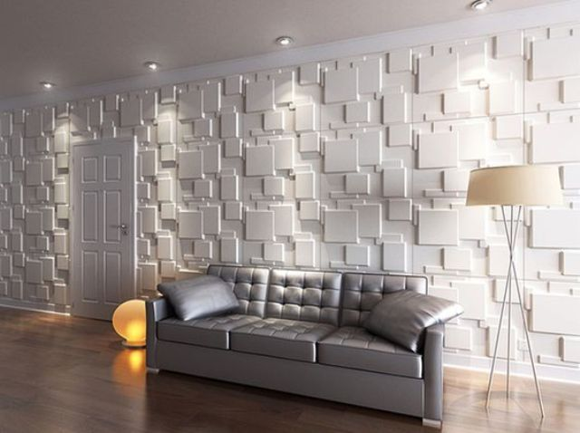 bring life to your walls with such eye-catching 3D panels