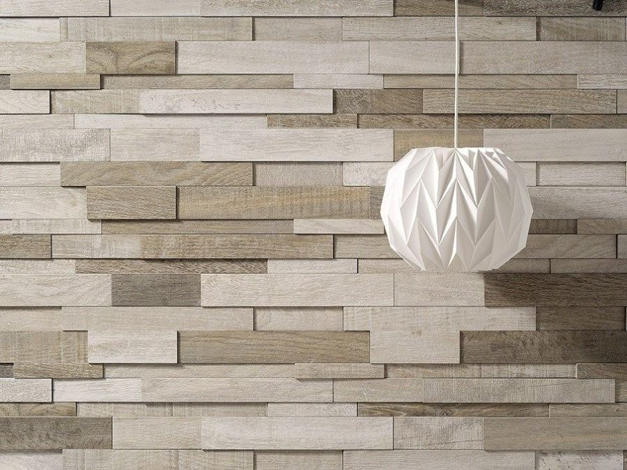 wooden pieces clad in a cool pattern bring a natural yet modern feel