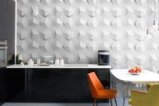 11 recycled cardboard 3D wall panels are eco-friendly