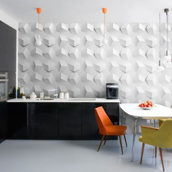 recycled cardboard 3D wall panels are eco-friendly