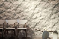 12 interlocking rock 3D panels for large scale walls