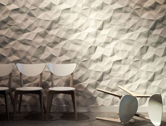 interlocking rock 3D panels for large scale walls
