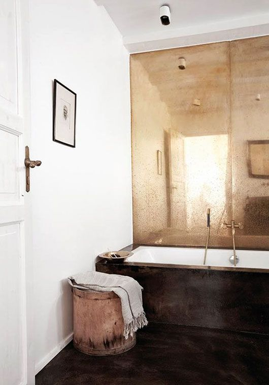30 Cool Ideas To Use Big Mirrors In Your Bathroom