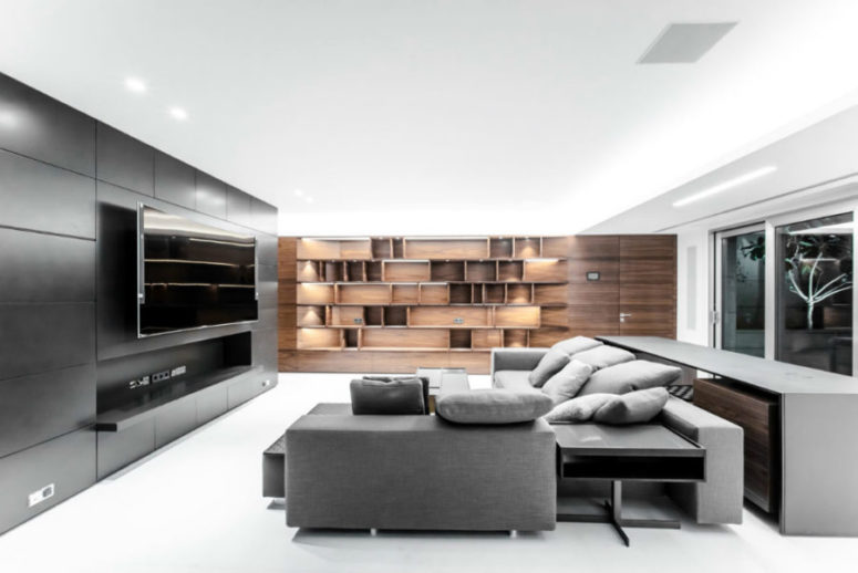 Home cinema doesn't have to be realistic but it has to be stylish