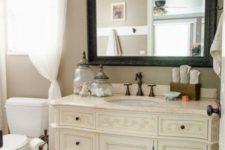 16 refined white dresser into a bathroom vanity