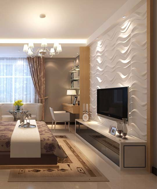 3d wall panels and coverings to blow your mind 31 ideas for Living room 3d tiles
