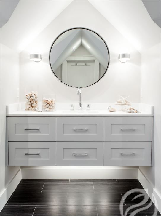 36 floating vanities for stylish modern bathrooms digsdigs Floating bathroom vanity