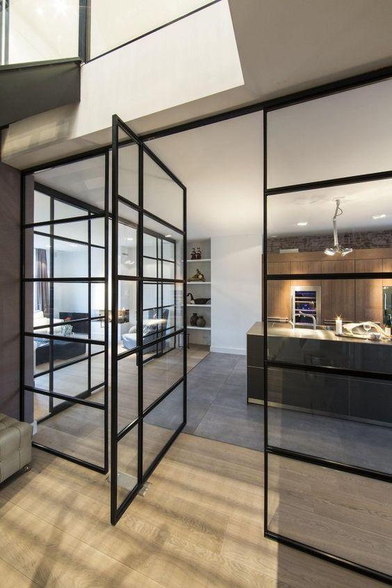 33 Stylish Interior Glass Doors Ideas To Rock Digsdigs