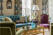 22 just some blue and purple touches for a neutral space