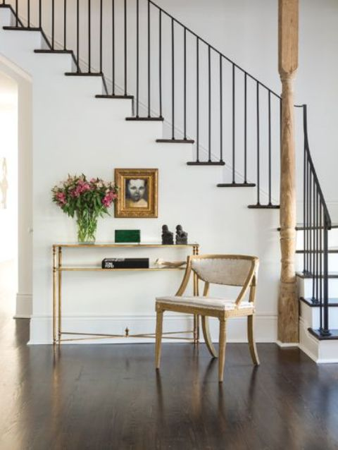 Modern Laconic Wrought Iron Handrails And Barade