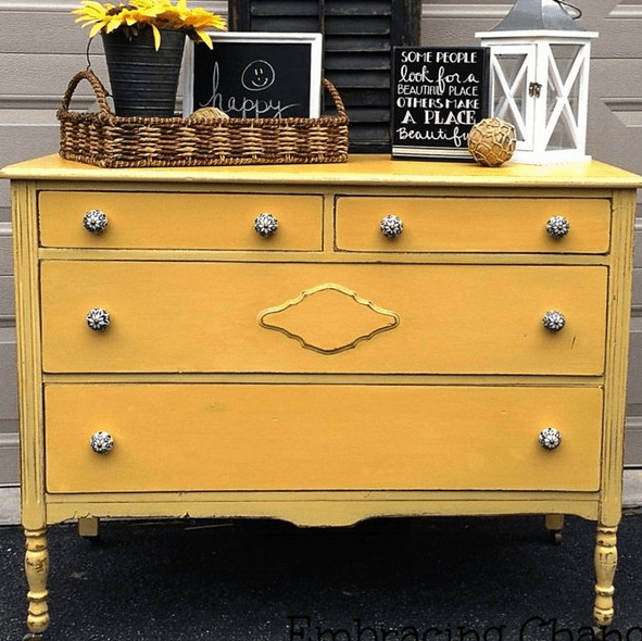 just new knobs can give your dresser a cool fresh look