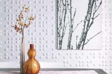 26 dotted 3D wall tiles look modern and refreshing