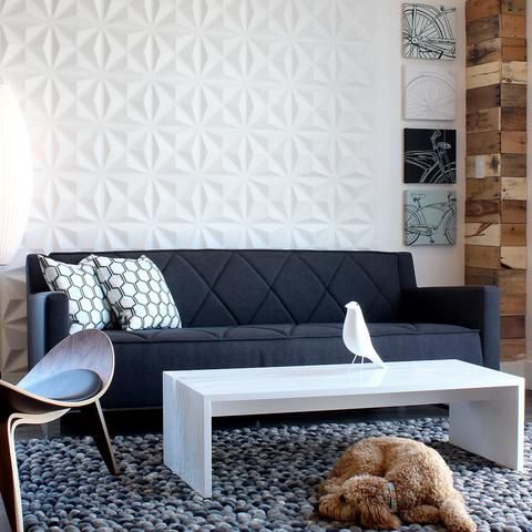 3d wall panels and coverings to blow your mind 31 ideas Decorative wall tiles for living room