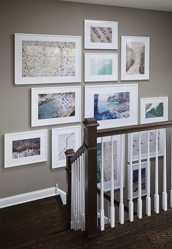 Family Travel Map Wall Art