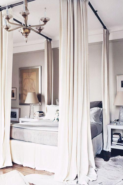 Curtains For Canopy Beds 33 canopy beds and canopy ideas for your bedroom - digsdigs