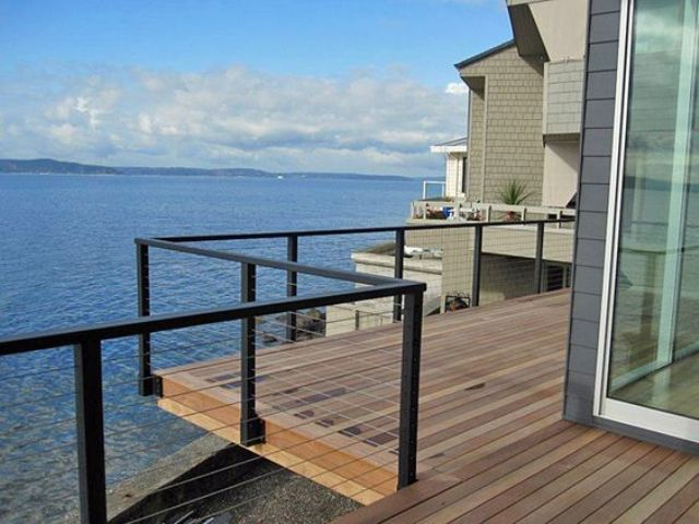 Edgy cable railing ideas for indoors and outdoors