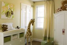 32 light yellow and green nursery is a vivacious and welcoming idea