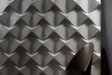 32 unique 3D sculptural tules can spruce up any space
