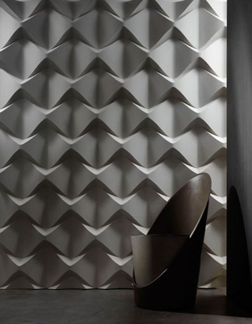 unique 3D sculptural tules can spruce up any space
