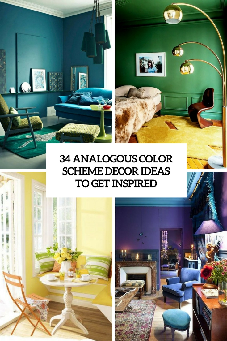 34 Analogous Color Scheme Decor Ideas To Get Inspired