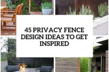 34 privacy fence design ideas to get inspired cover