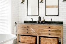 industrial bathroom vanities