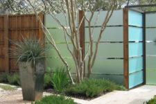 privacy fence design ideas