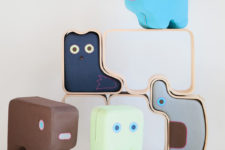 01 Animaze collection is unique soft furniture shaped as animals to encourage kids to play