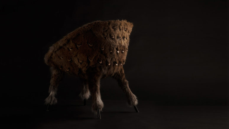 Broached Monsters Furniture Based On Creatures Of Folklore