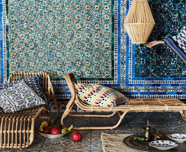 IKEA Jassa Rattan And Textile Limited Collection