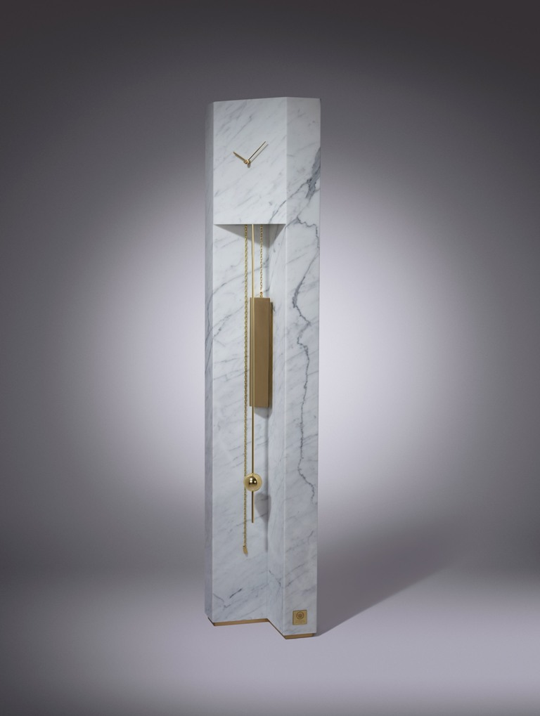 Marble Time Machine Inspired By Brutalist Architecture