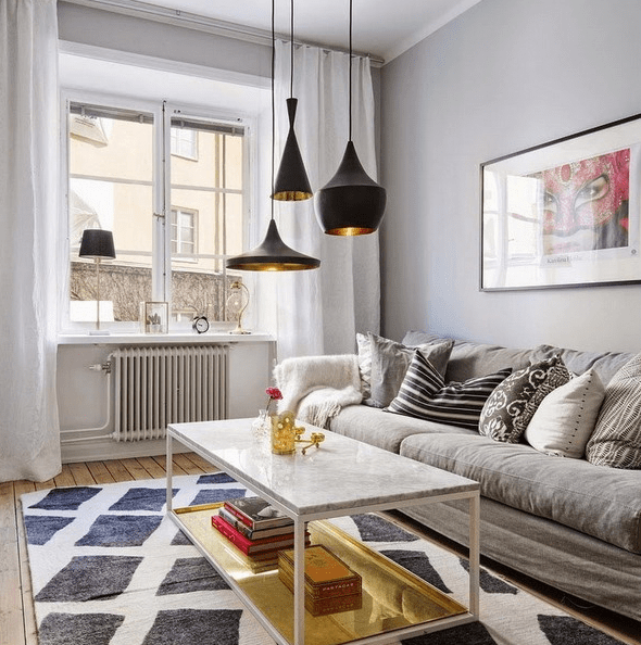 Small Scandinavian Apartment That Accomodates Everything Necessary