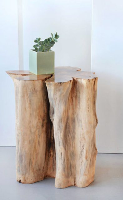 Solid Wood Side Table Colleciton By Archibold Digsdigs
