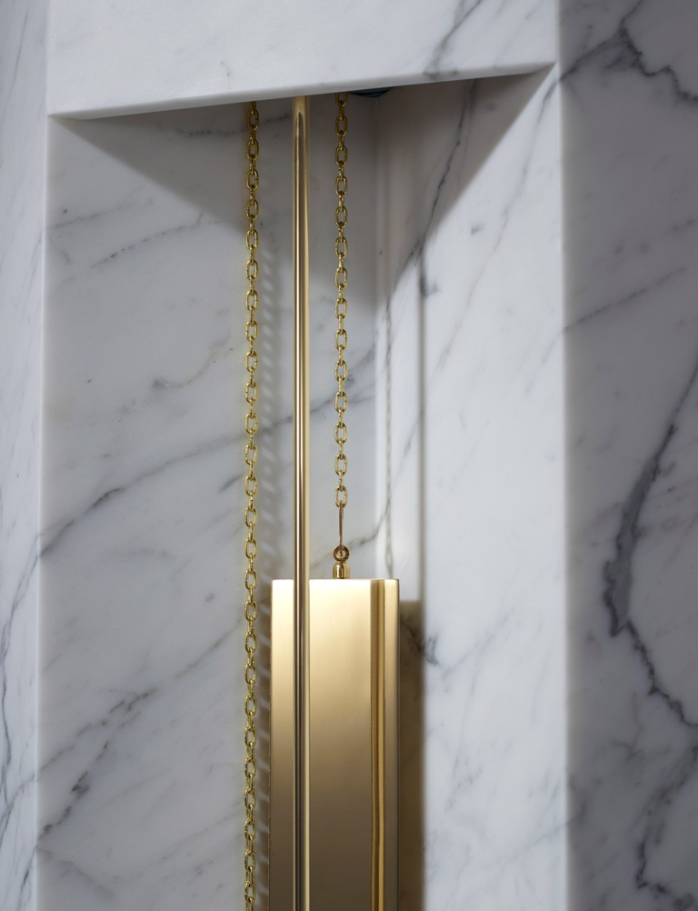 brass decor details