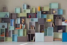 creating shelving for tricky spots