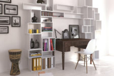 flexible shelving system design