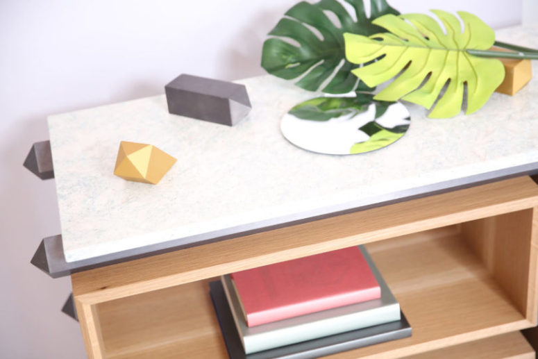 There are different tops to choose from, so you can easily find a finish that fits your own space