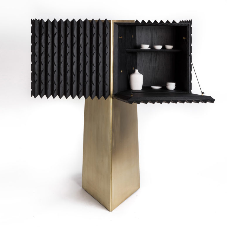 Choose your own unique look of the cabinet and rock it at home