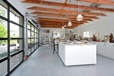 04 roll up garage doors for a kitchen bring much light in and serve as a door