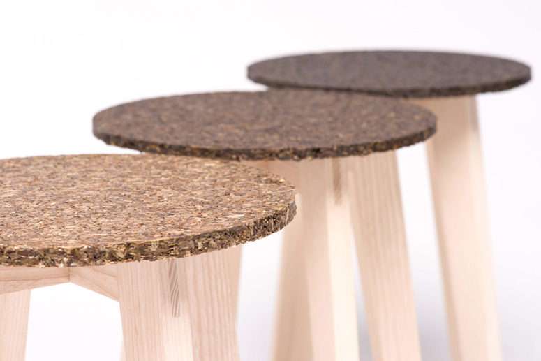 The seats look soft and textural, it will be a nice natural touch for your interior