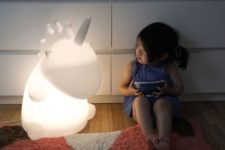 05 a giant unicorn table lamp will excite kids and adults too