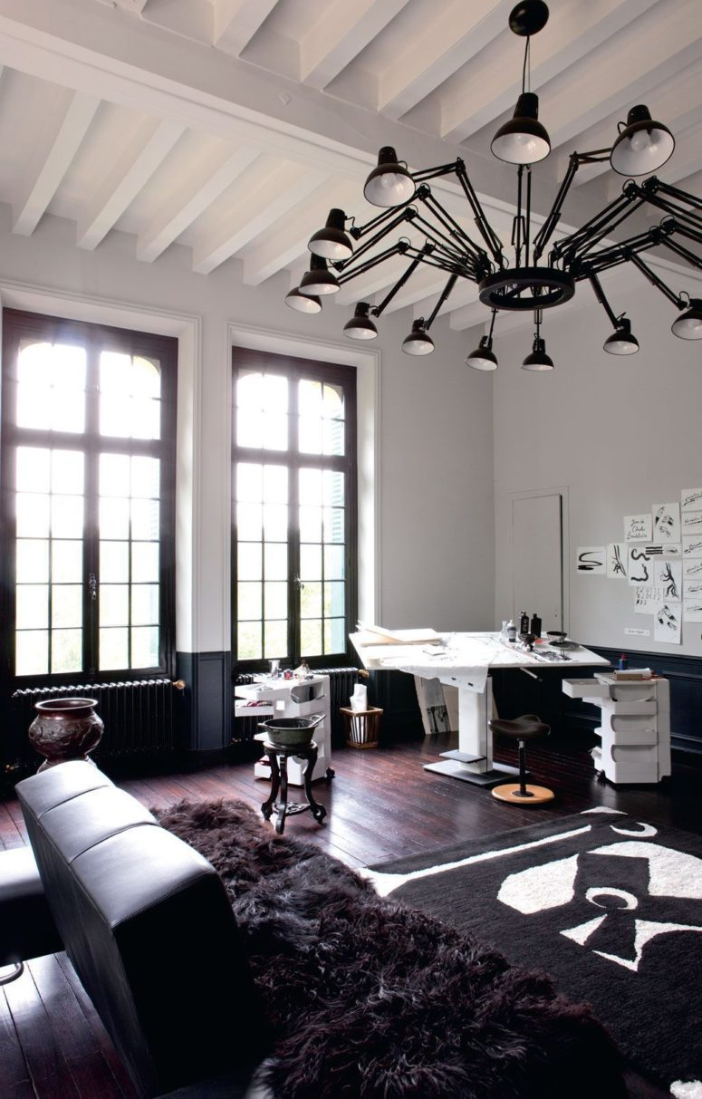 This is one of the studios of the owners, and it can really inspire