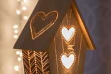 09 a wooden bird house night light is great for nurseries and kids rooms