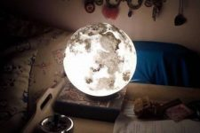 11 Moonlight brings the beauty of outer space into your kids room