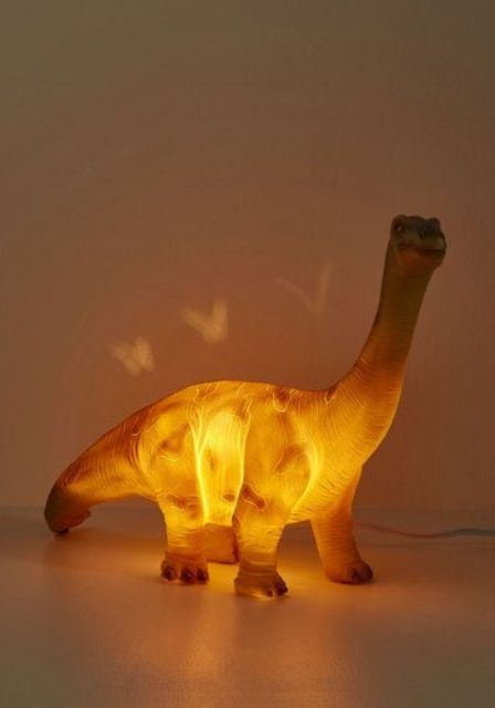 Glowing Dinosaur Lamp Will Amaze Your Children For Sure