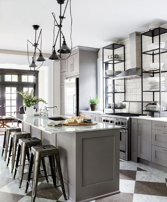 Kitchen Furniture: 33 Masculine Kitchen Furniture Ideas That Catch An Eye