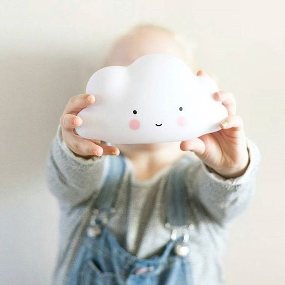 light cloud lamp can be used as a pretty night light